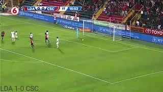 Alajuelense 1-0 Club Sports Cartaginés  fecha 16 T-Verano