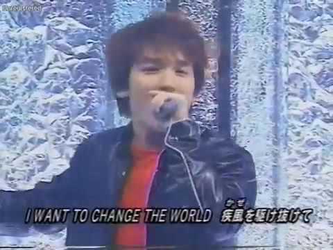 CHANGE THE WORLD  INUYASHA OPENING