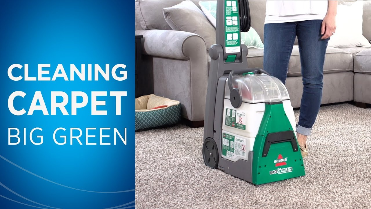 How to Use the BISSELL Big Green® Machine Professional Carpet Cleaner