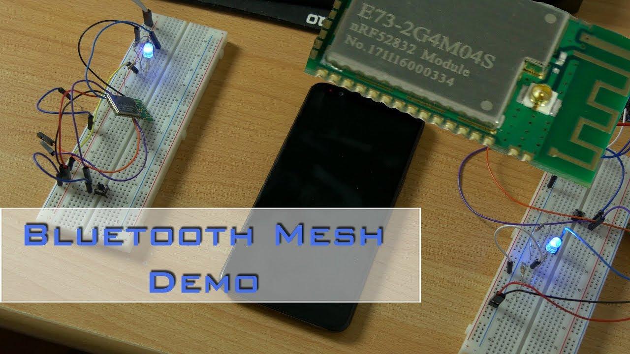 Bluetooth Mesh - Demo mit Nordic nrf52832 Funkmodulen von ICStation com [de]