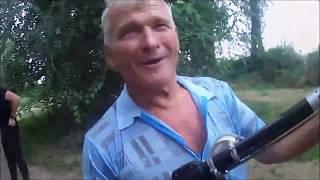 Испытание подводного  ружья Sargan Ripus 600. Геннадий Иванович  проверяет.