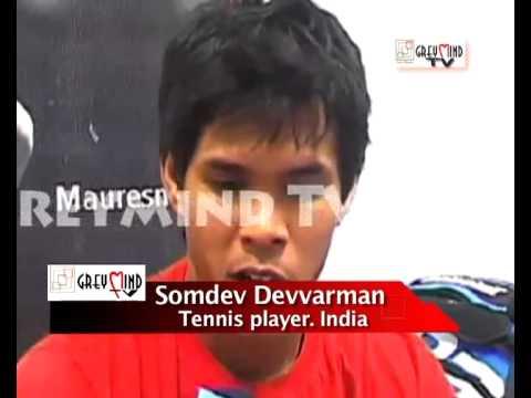 EXCLUSIVE: INTERVIEW WITH INDIAN TENNIS ACE SOMDEV DEVVARMAN...