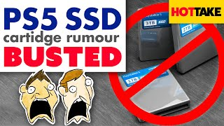 PS5 SSD Cartridge Rumour Busted - Hot Take