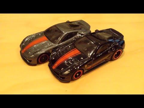 Hot Wheels Super Treasure Hunt Ferrari 599xx 2015 D Case Th Youtube
