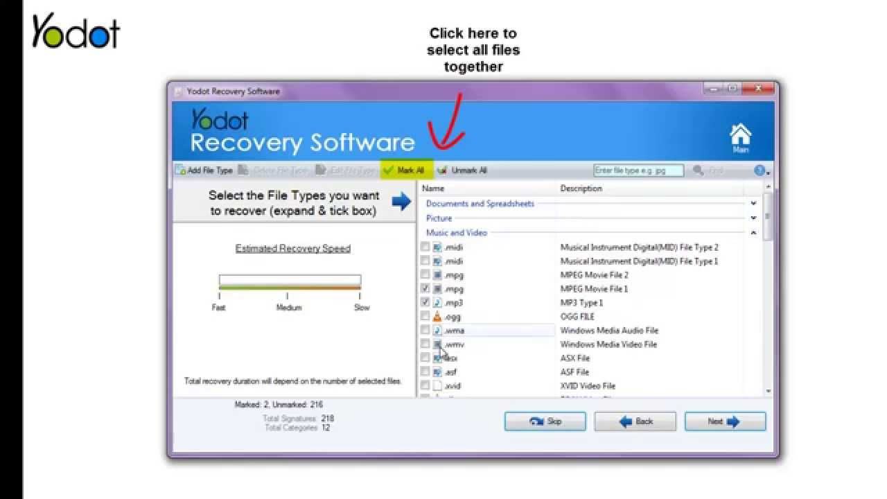 yodot hard drive recovery software free download