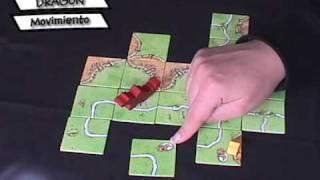Carcassonne - La Princesa y el Dragon [Juego de Mesa / BoardGame]