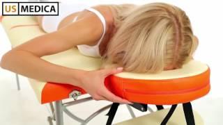 Легкий массажный стол US MEDICA Super Light - видео обзор