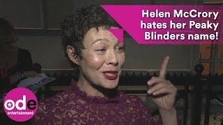 Helen McCrory Hates Her Peaky Blinders Name!