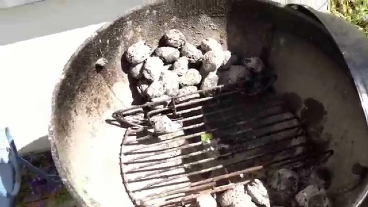 Weber Holzkohlegrill Hitze : Grillen mit weber grill indirekte hitze hackbraten rezept youtube