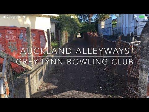 Auckland Alleyways | Grey Lynn Bowling Club