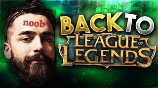 MY RETURN TO LEAGUE OF LEGENDS