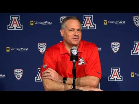 Arizona Football Press Conference