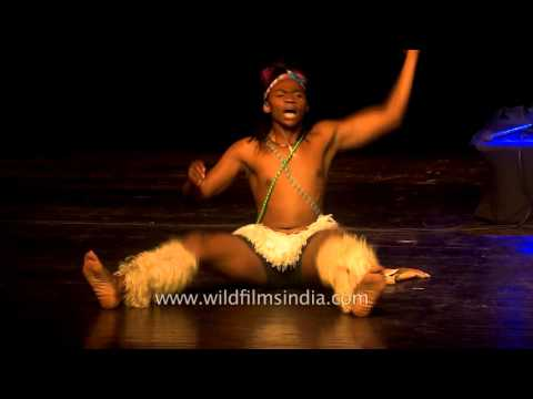 Umkhonto we Sizwe dancers from South Africa enthrals Delhi audiences