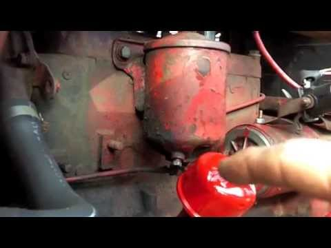 Tune Up And Oil Change 1948 8n Tractor Youtube