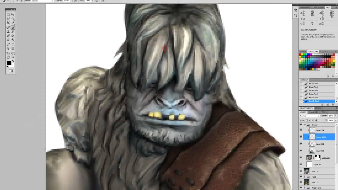 Forum avatar creation Offensive Combat 'The Yeti'