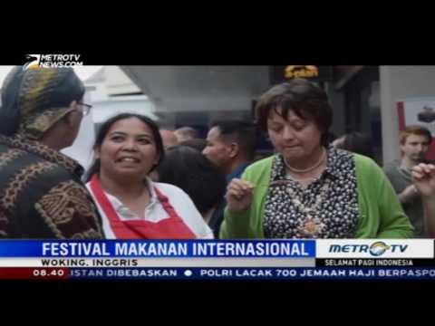 Kuliner Indonesia Menjadi Favorit di Woking Food and Drink Festival