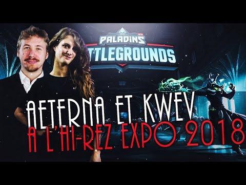 AETERNA ET KWEV A L'HI-REZ EXPO 2018 !! ( TOUTES LES NOUVEAUTÉS )