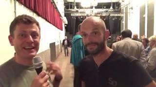 Marco Bülow und Steve Hudson von Aufstehen: Aufruf zur #unteilbar Demo