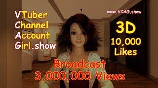 (English) VTuber Account Girl 《On Air》  (4KHD Trailer) Virtual YouTube