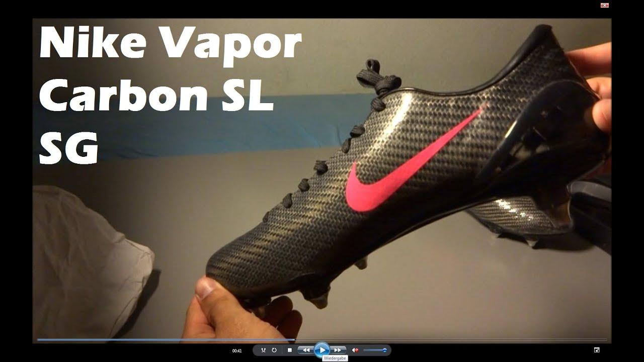 6b861e3b3  UNBOXING  Nike Mercurial Vapor Carbon SL SG Football Boots