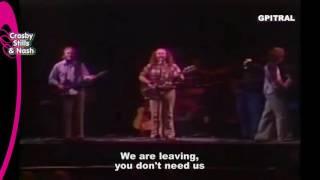 Crosby, Stills & Nash Wooden Ships lyrics