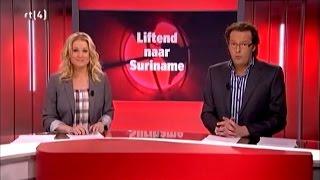 Liften naar Suriname op RTL 4, bij Editie NL