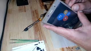 Leagoo M5 3G разборка и замена сенсора