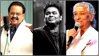 S Janaki S P Balasubrahmanyam Duets for A R Rahman    Tamil Super Hit 90s songs