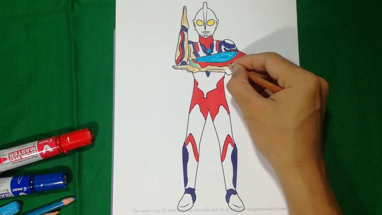Ultraman RIBUT Final Shoot Coloring Pages SAILANY Kids