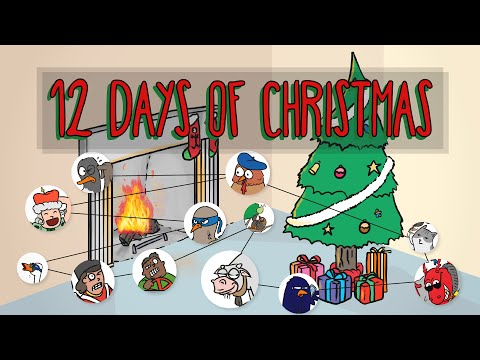 12 Days of Christmas - How Many Gifts Do You Get?