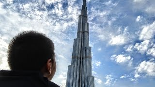 The Burj Khalifa.  The Tallest Building in the World.