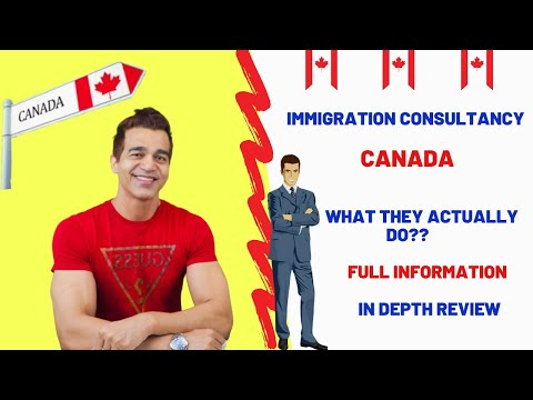 IMMIGRATION CONSULTANCY CANADA ! WHAT THEY ACTUALLY DO ?