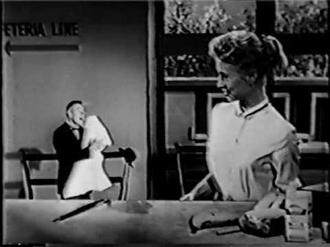 Kleenex Commercial with Manners the Butler - 1950s - YouTube