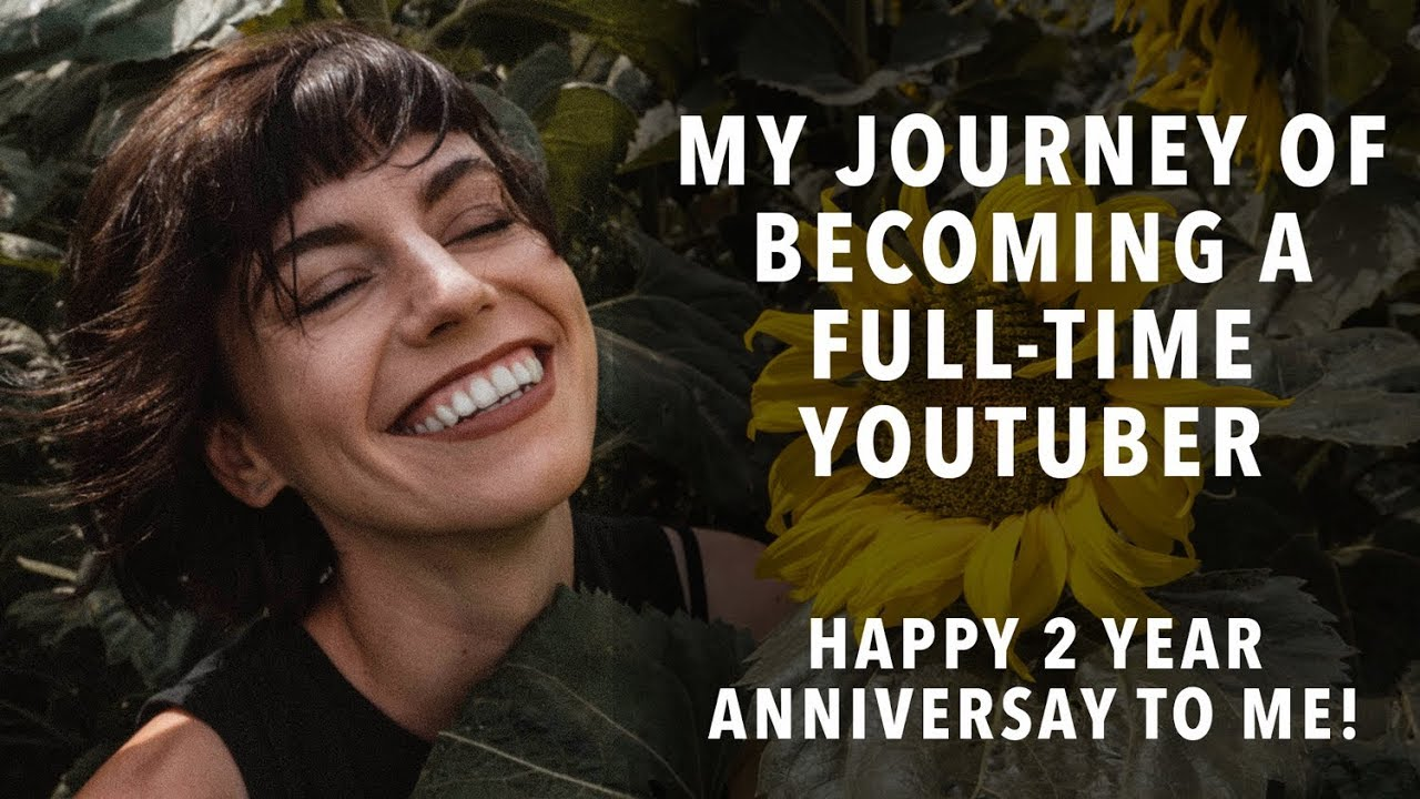 My Journey Of Becoming A Full Time Youtuber Happy 2 Year Anniversary To Me