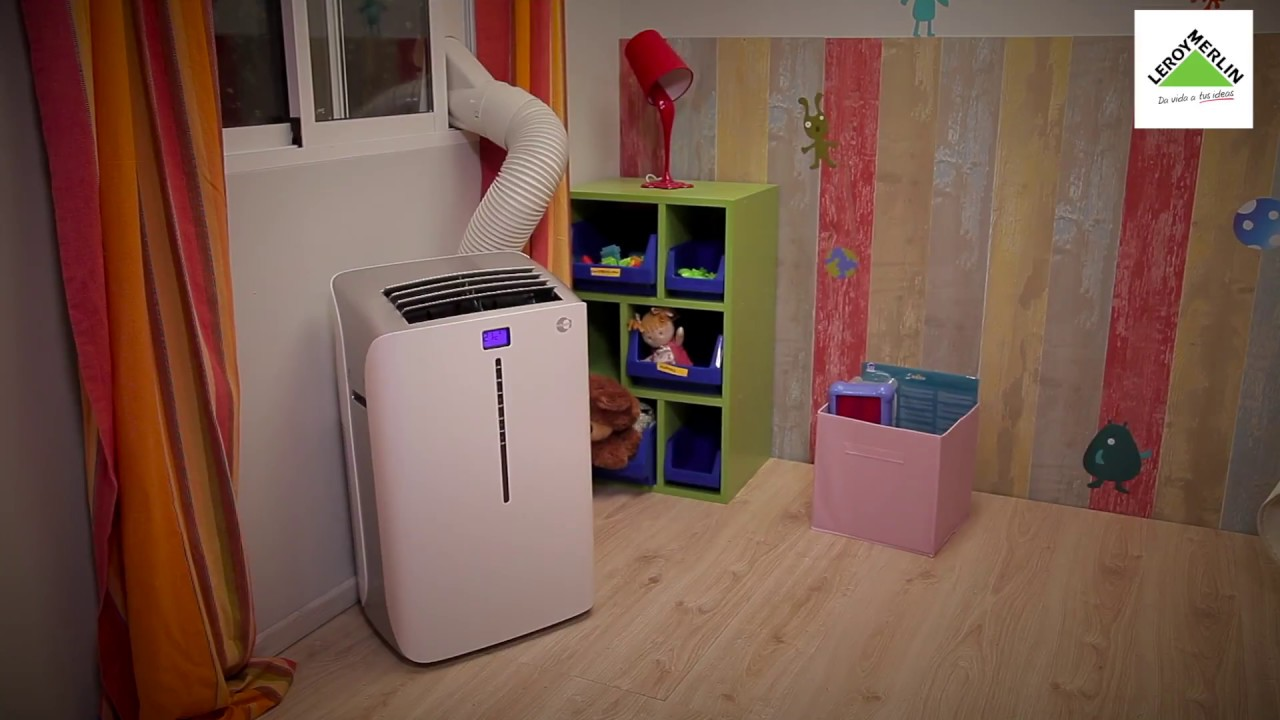 C mo elegir e instalar aire acondicionado port til for Aire acondicionado portatil leroy merlin