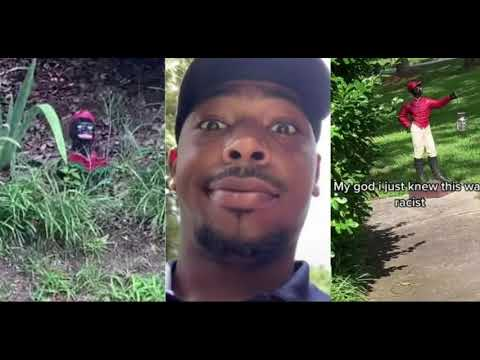 Black Man Finds Lawn-Jockies Outside Customer's Home In Atlanta