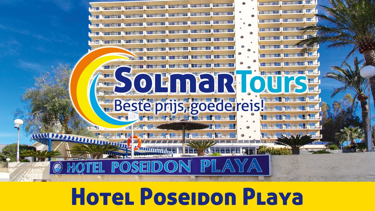 Hotel poseidon playa benidorm youtube for Hotel poseidon playa
