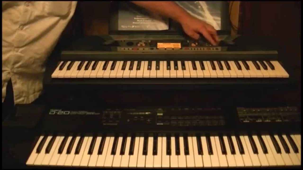 yamaha psr 280 keyboard kijiji score youtube. Black Bedroom Furniture Sets. Home Design Ideas