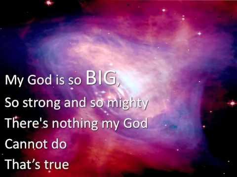 My God is So Big ~ Colin Buchannan ~ lyric video