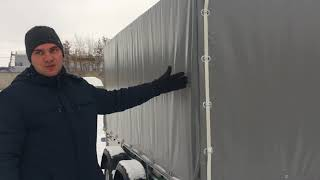 видео Перевозка груза на легковом прицепе длинномера