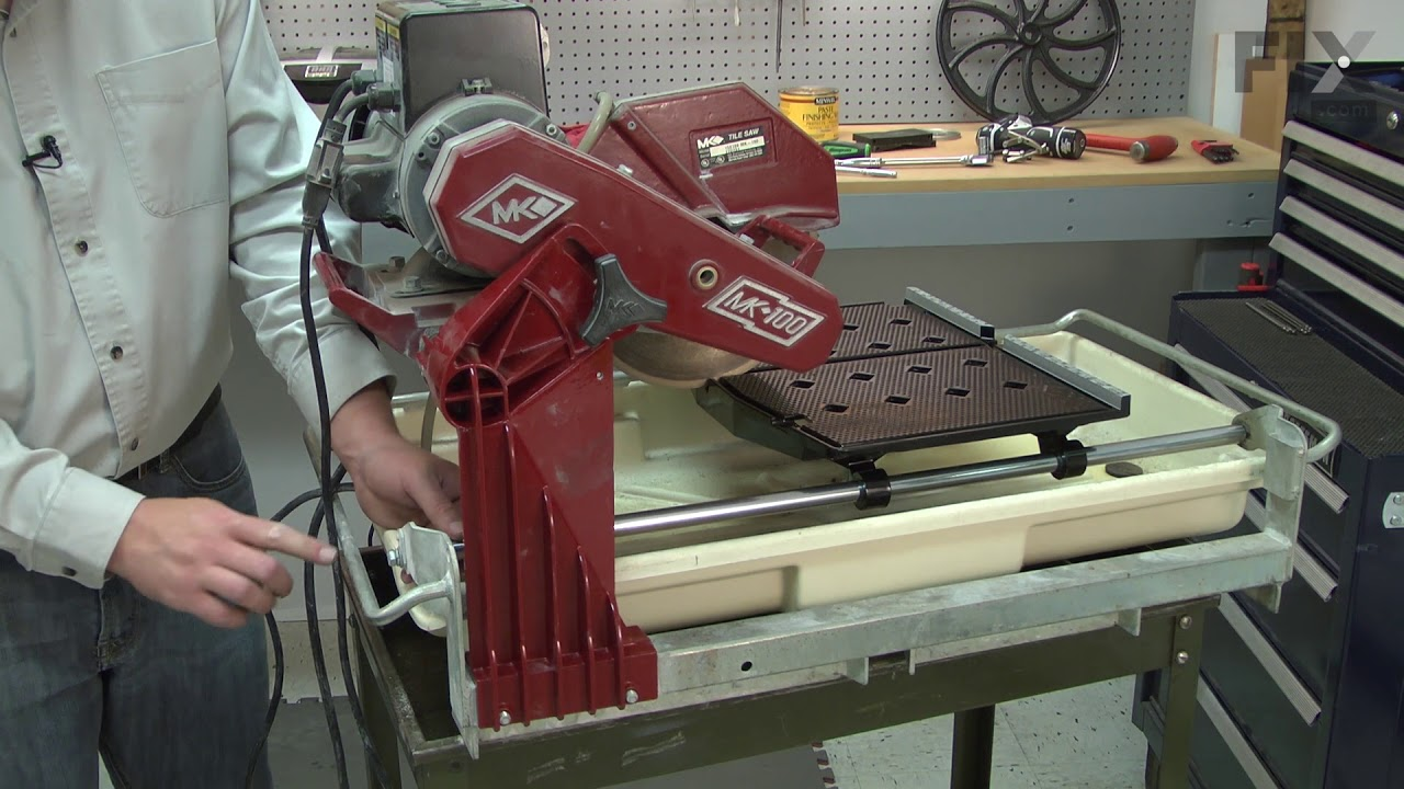 mk diamond tile saw repair how to replace the table