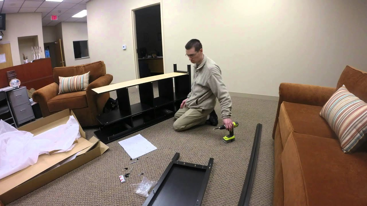 Ikea Hemnes Sofa Table Embly Time Lapse