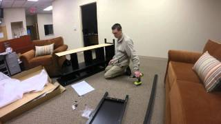 Building Ikea Hemnes Sofa Table Time Lapse Made With Gopro Hero 3+