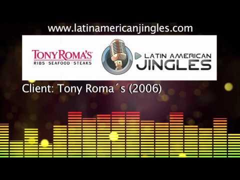 Jingle Tony Roma´s -.- Latin American Jingles
