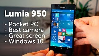 Lumia 950 review - vs iPhone 6s // Samsung S6