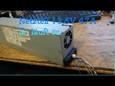Servernetzteil-Spannung Anpassen 13,8V 47A    Für DPS-600PB/HP DL380 G4 / DL385