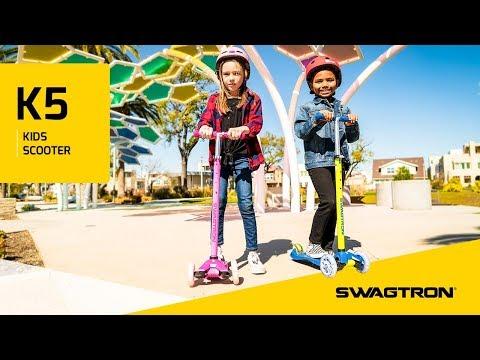 PLAY LIKE A PRO - Swagtron K5 Kids Three-Wheel Scooter
