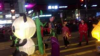 Chinese Lunar New Year Parade in Hong Kong 2013(Ocean Park)