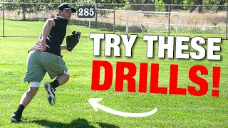 Outfield Drills You Can Do By Yourself!