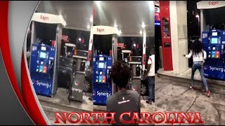 SUV Run into People at Gas Station 1 Dead, 4 Injured in Greensboro, NC